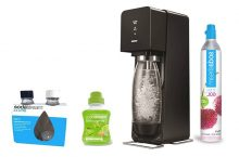 Sodastream Source Machine à eau pétillante et soda